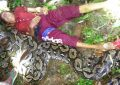 Wa Sago, Korban yang Digigit Ular di Buton (Foto: IST)