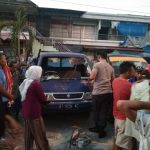Tampak Mobil yang Diduga Dirusaki oleh Sekelompok Pemuda
